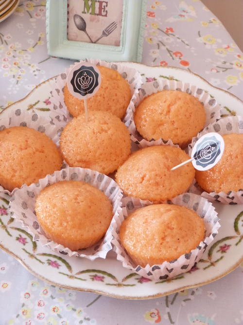 Cupcake Pomme d'Amour (Pomme/Citron)