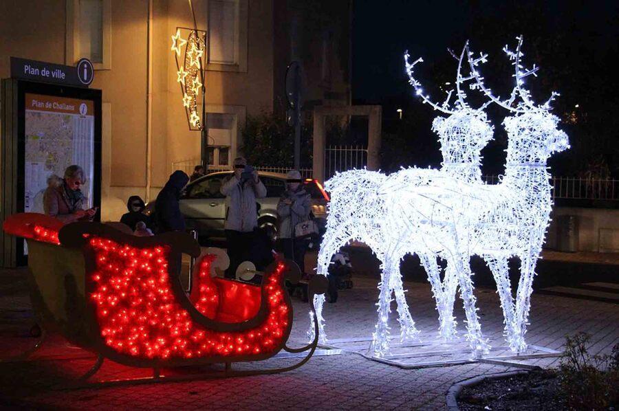« Déco de Noël – Challans »