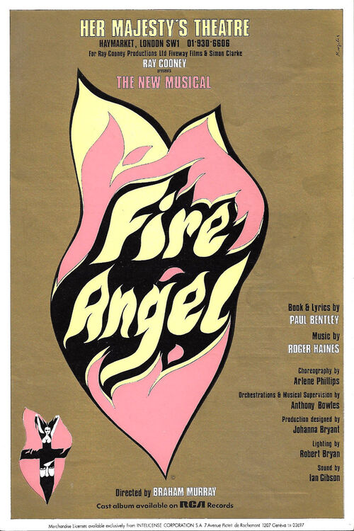 Fire Angel - 1977 - Londres