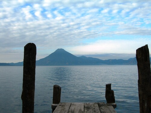 Direction le lac Atitlan