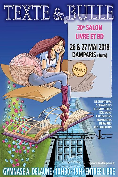 Salons, festivals, dédicaces 2018.