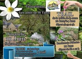 Trail de la Vallée de la Sarre - Guern -