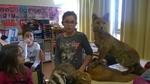 Des animaux naturalisés en classe!