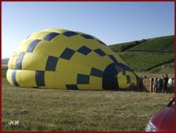 - voyage en montgolfière