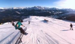 Une vidéo de Snowboard interactive à 360° !!