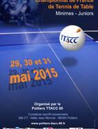 Championnat de France Minimes / Juniors 2015 - du 29 au 31/05/15