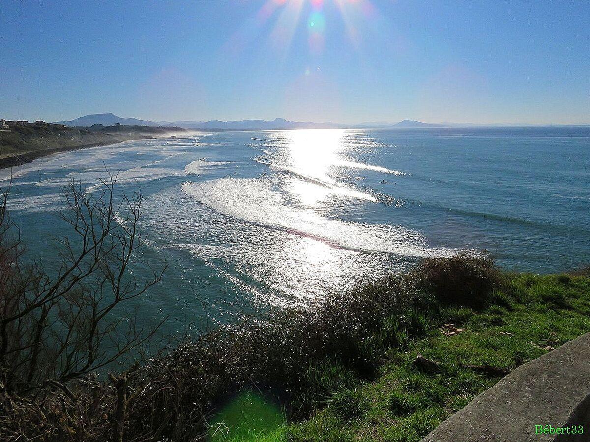 Vagues à Biarritz