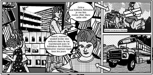 Le Bibliobus des Editions Réinsérer (décentralisation et ennui)