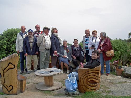 Les Joyeux Sansonnets en voyage à Morlaix et à Roscoff