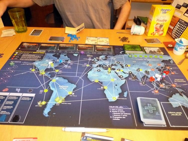 Pandémie Legacy (début juillet)