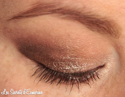 maquillage, yeux, neutre, marron, beige, makeup