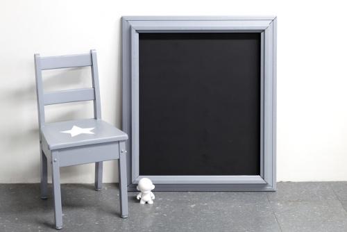 Collection GRIGRIS SOURIS : le tableau noir presque carré