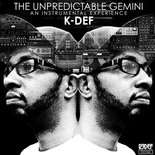 K-Def - The Unpredictable Gemini (2016) [Instrumental Hip Hop , Beatmaker]