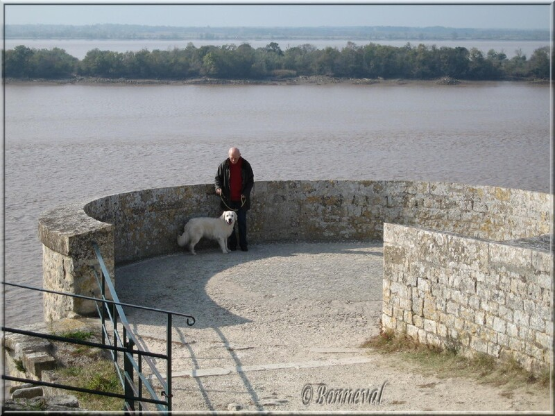 Citadelle de Blaye Gironde les fortifications la Tour de l'Aiguillette
