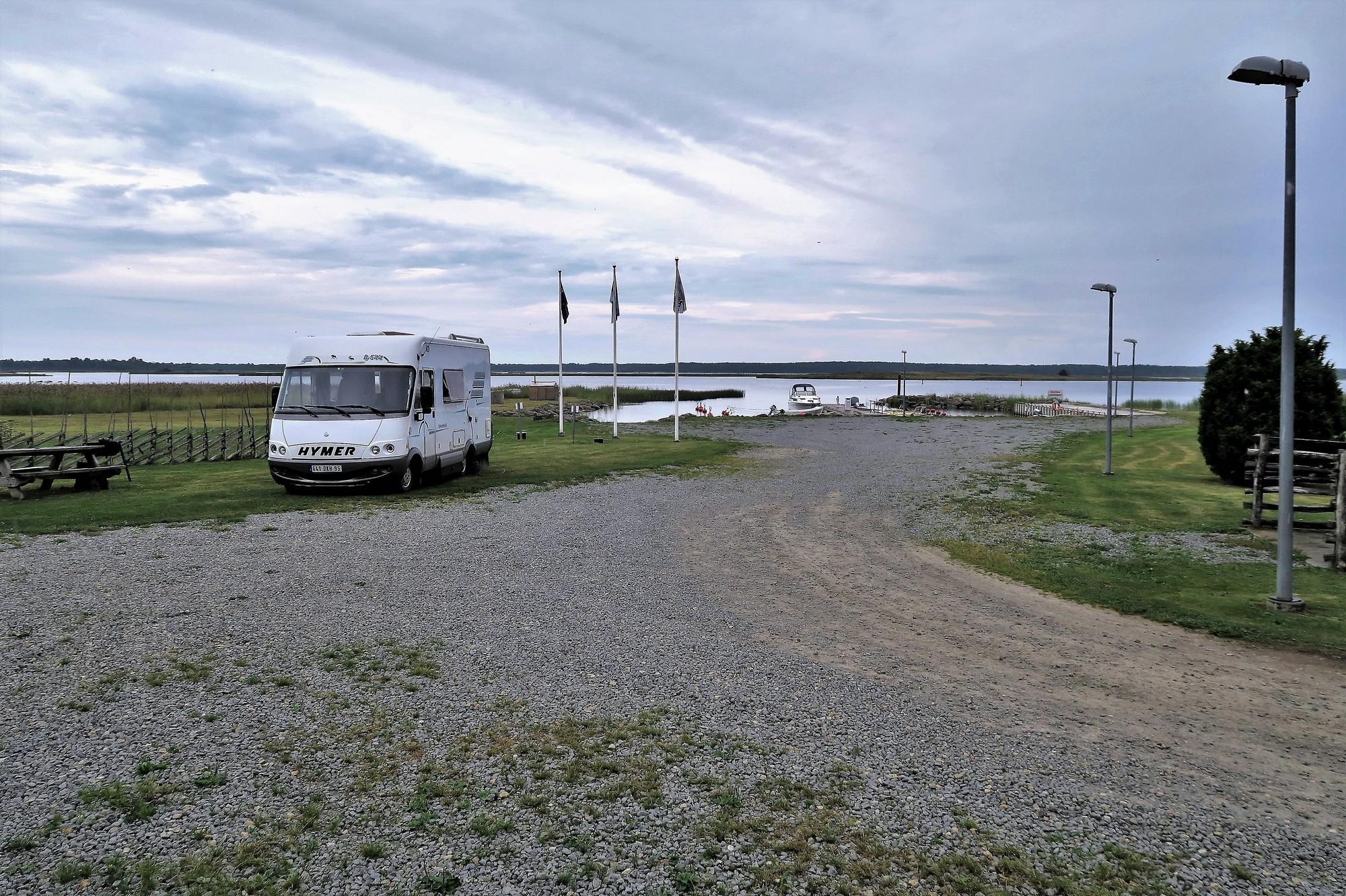 Port KUNGLA (EST) Le port