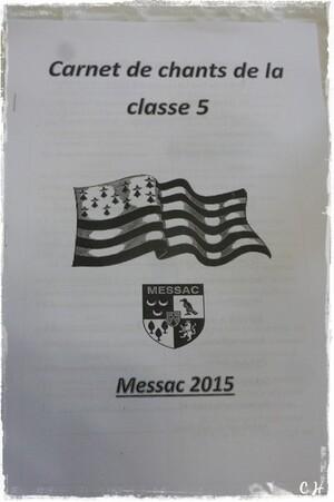 Messac aujourd'hui : les classes 5 - 2015
