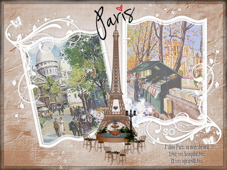 Défi musical Paris au mois de Mai