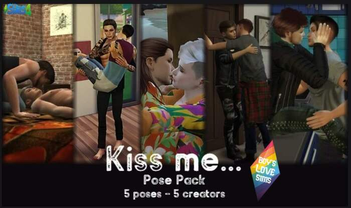 Kiss Me - Pose Pack - BLS Groupe FB