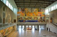 Oslo-Rådhuset-fresques