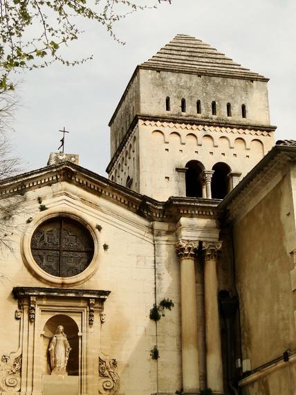 Saint Paul de Mausole à Saint Rémy de Provence