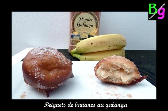 beignets banane galanga
