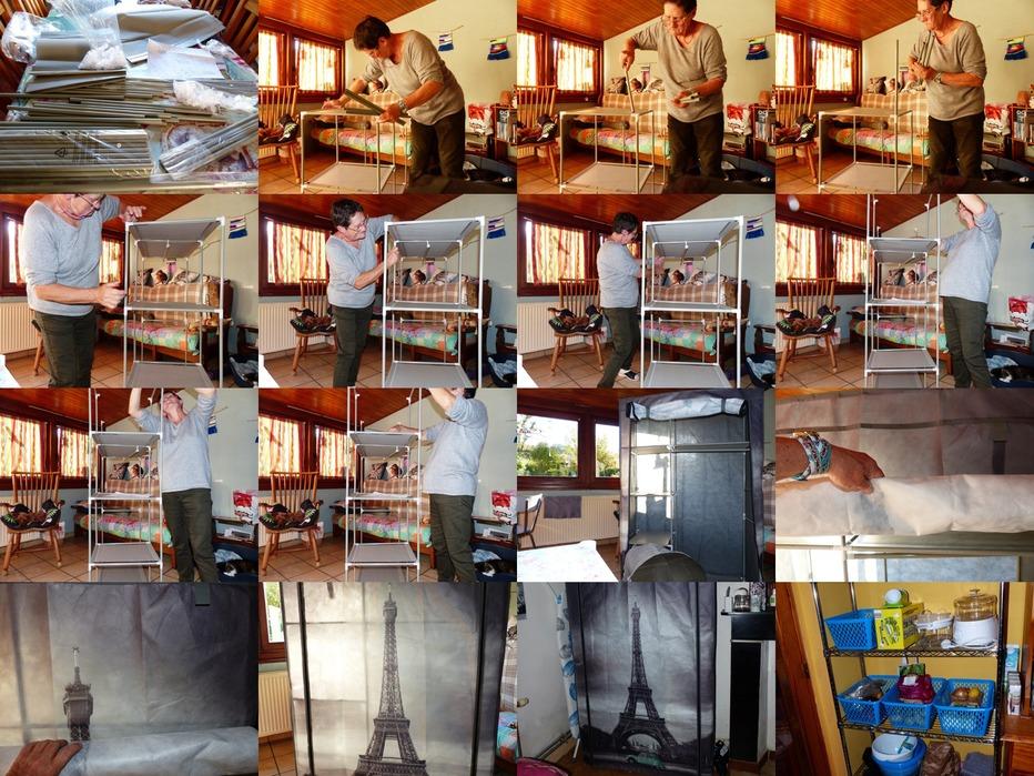 La Tour Eiffel dans ma chambre...