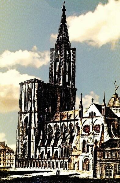 La sémaphorique Cathédrale de Strasbourg