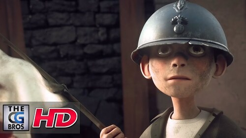 "CGI 3D Animated Short: ""BLEUETS"" - by ECV Animation Bordeaux ..."