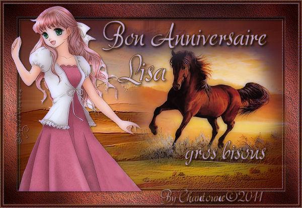 Cadeaux pour l'anniversaire de Lisa