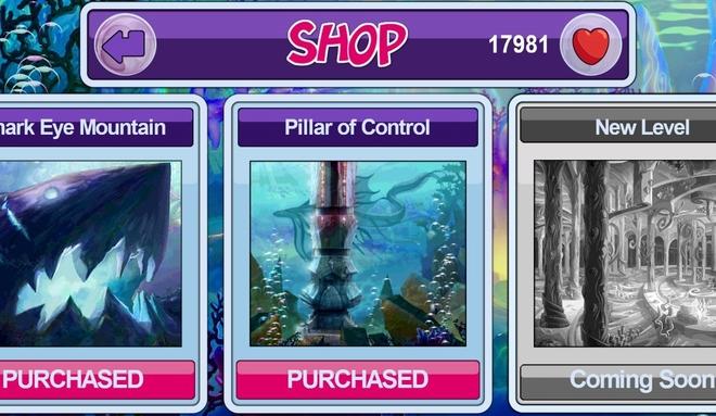 Pillar of Control level