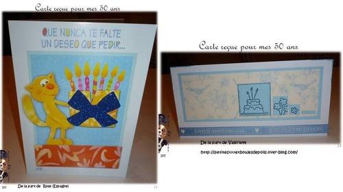 Mon anniversaire : toutes vos cartes