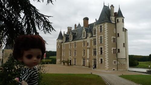 Balade en Touraine. Château de Montpoupon