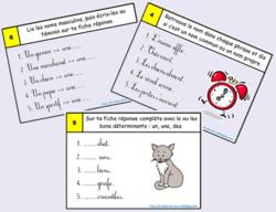 Rallye jeu : révison grammaire - conjugaison