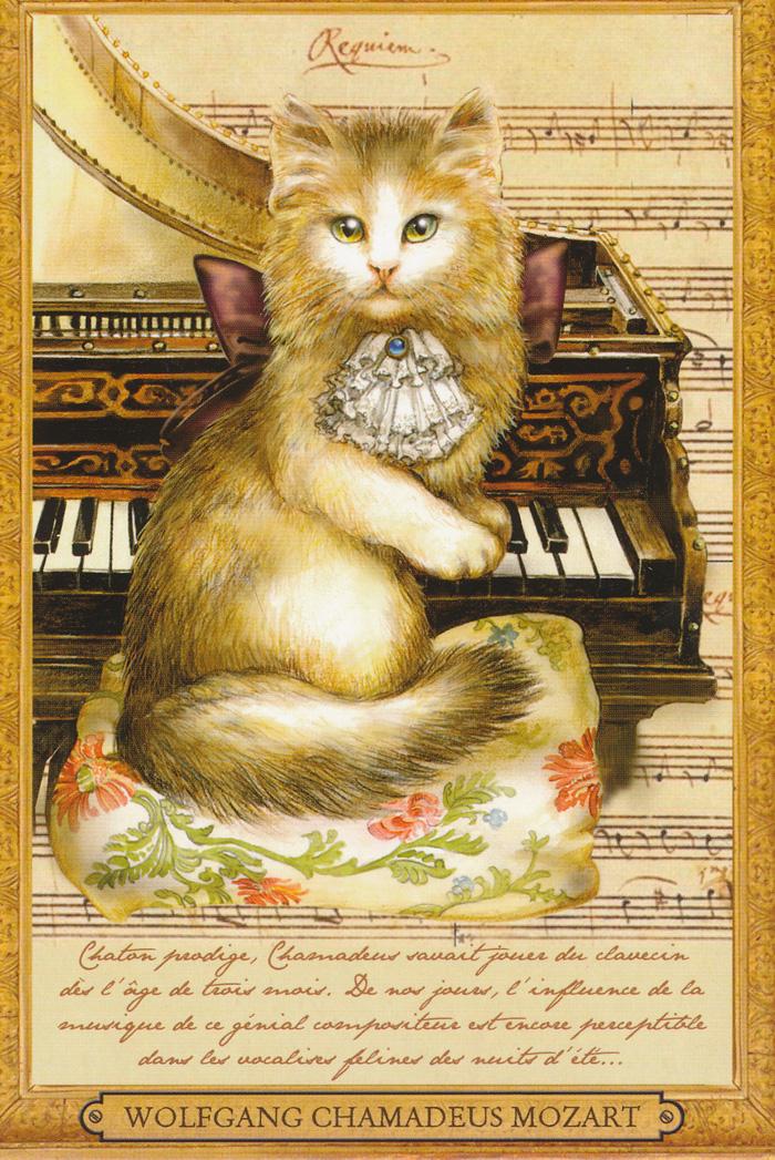 Les chats et la musique