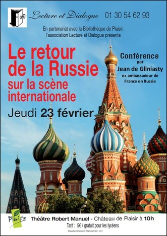 CONFERENCES 2017 - Théâtre Robert Manuel -  Château de Plaisir