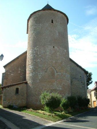 L'église de Thédirac