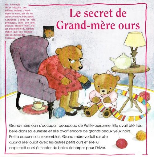 Le secret de Grand-mère Ours