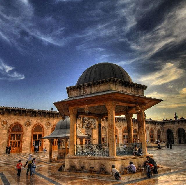 Umayyad-mosque-Aleppo
