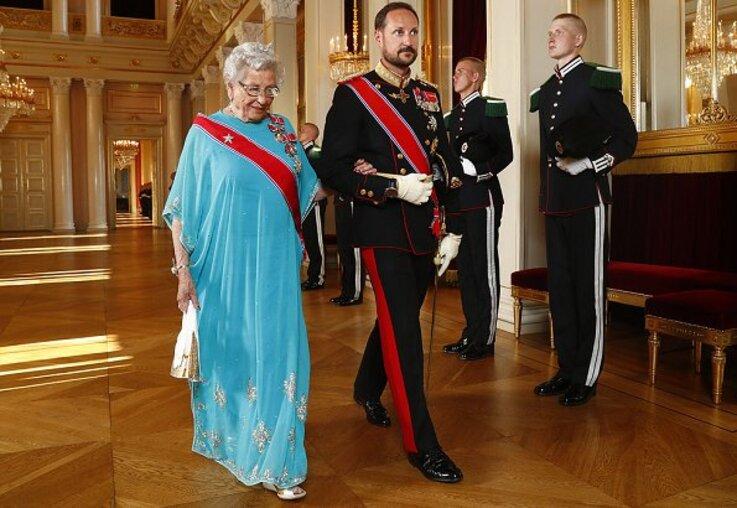 Visite du président de slovaquie en Norvège