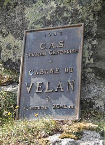 Cabane du Vélan