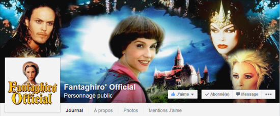 Page facebook Fantaghiro official