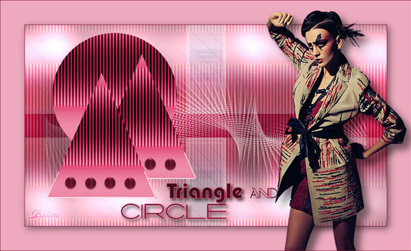 Triangle and circle