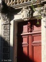 Narbonne - 13 août 2009 - Porte d'entrée