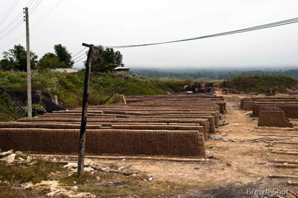 Briqueterie de Houana - Luang Namtha - Briques en ligne