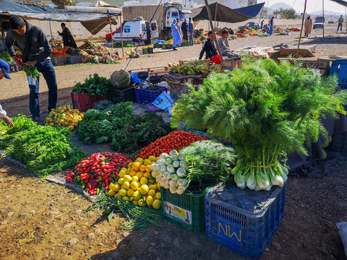 Le souk de Sidi Ifni