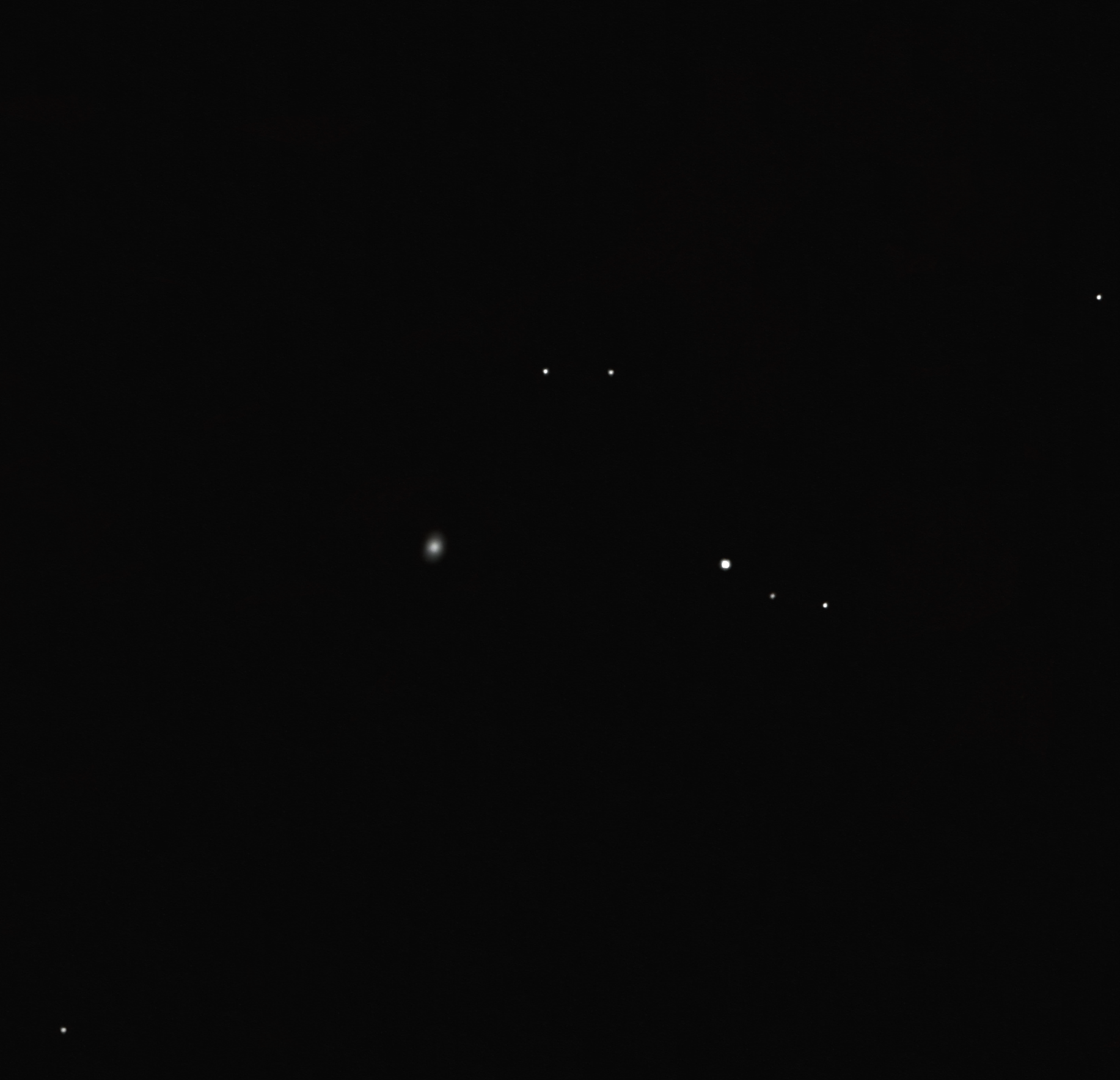 Shane 1 planetary nebula