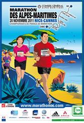 Marathon des Alpes Maritimes - Nice Cannes - 20 novembre 2011