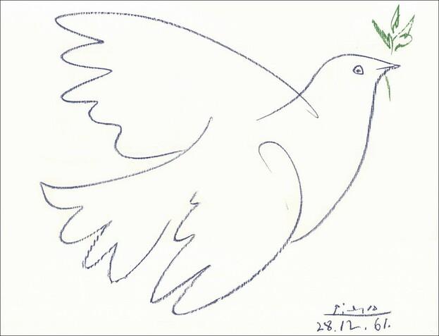 Colombe de la paix Picasso