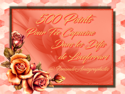 Cadeau du Forum Marie Liberté