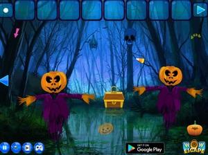 Jouer à Halloween quest forest escape